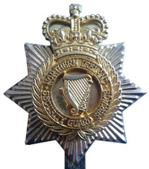 Northern Ireland Security Guard Service - Cap Badge of the Northern Ireland Security Guard Service