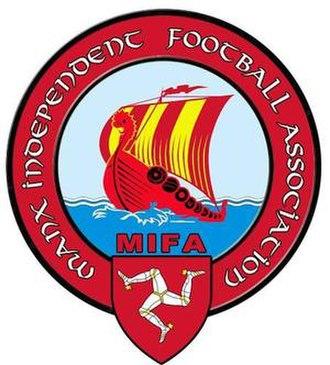 Ellan Vannin football team - Image: Official logo of MIFA