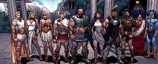 Olympians (Marvel Comics) Fictional comic book species