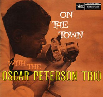 On the Town with the Oscar Peterson Trio - Image: Onthe Townwiththe Oscar Peterson Trio