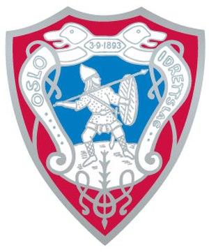 Oslo IL - Image: Oslo idrettslag logo