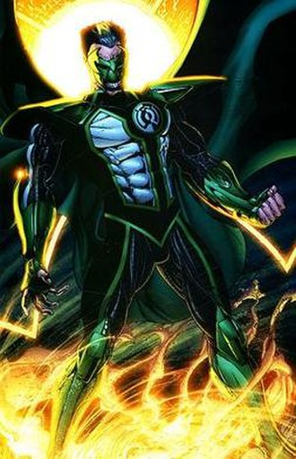 Parallax (comics) - Kyle Rayner becomes Parallax's newest host. Art by Ethan Van Sciver.