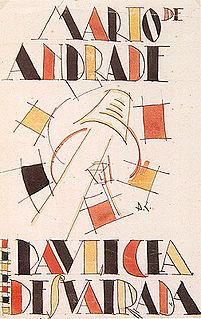 <i>Paulicéia Desvairada</i> Mário de Andrade poetry collection