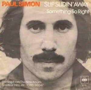 Slip Slidin' Away - Image: Paulsimon slipslidinaway 77