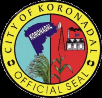 Koronadal - Image: Ph seal Koronodal