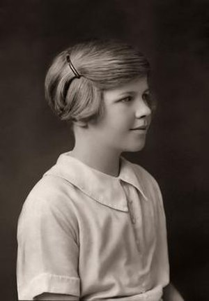 Venetia Burney - Venetia Burney at age 11