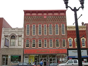 Delaware, Ohio - Late 19th-Century facades on Sandusky Street