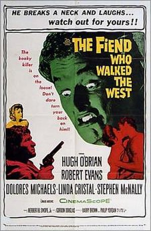 The Fiend Who Walked the West - Theatrical release poster