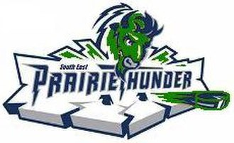 South East Prairie Thunder - Image: Prairie Thunder logo