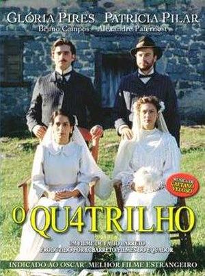 O Quatrilho - DVD release poster