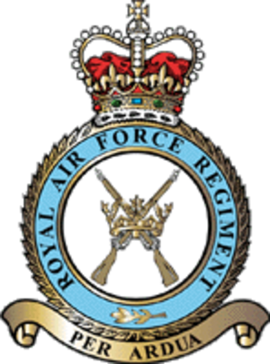 No. 1 Squadron RAF Regiment - Image: RAF Regtbadge