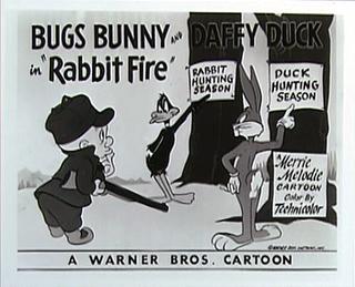<i>Rabbit Fire</i> 1951 American animated short film directed by Chuck Jones