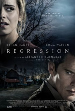 Regression (film) - Theatrical release poster