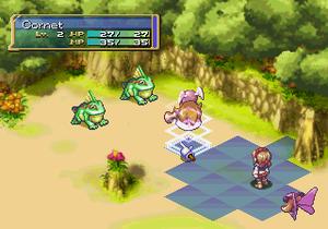 Rhapsody: A Musical Adventure - Battle scene screenshot