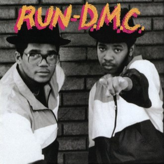 New school hip hop - Street style: Run-D.M.C. on the cover of their debut LP, 1984