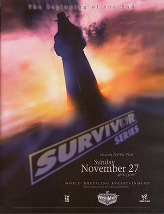 Survivor Series (2005) - Promotional poster, showcasing The Undertaker