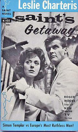 The Saint (Simon Templar) - Many Saint novels were reprinted in new editions in the 1960s to capitalise on the popular television series, starring Roger Moore.