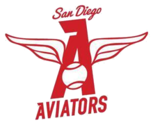 San Diego Aviators official logo.png