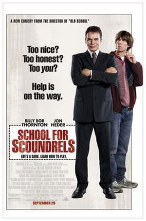 School for Scoundrels (2006 film) - Theatrical release poster
