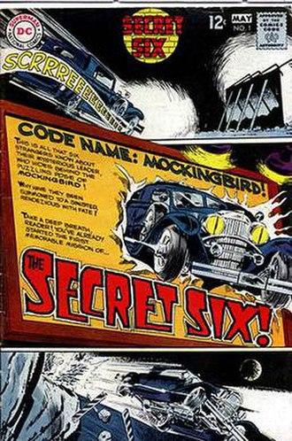 Frank Springer - Image: Secret Six 1