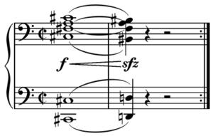 Motif (music) - Image: Sibelius Finlandia, Op. 26 opening motive