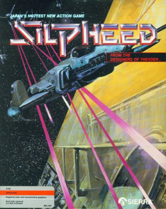 Silpheed - Apple IIGS / DOS cover art
