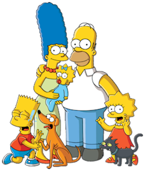 Simpson family - Image: Simpsons Family Picture