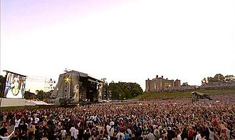 "By the Way - Red Hot Chili Peppers performing ""By the Way"" at Slane Castle on August 23, 2003."