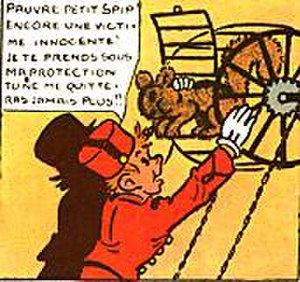 Spirou et Fantasio - Spip's liberation, June 15, 1939
