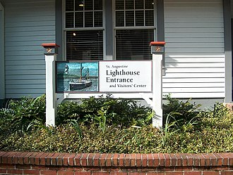 St. Augustine Light - Visitors' Center