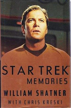 Star Trek Memories - First hardcover edition, 1993