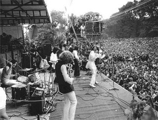 <i>The Stones in the Park</i> 1969 outdoor festival in Hyde Park, London