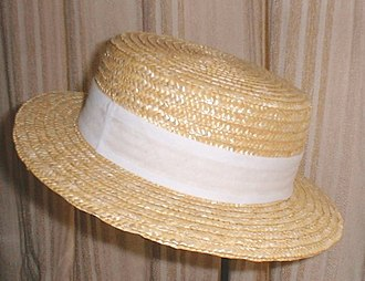 Boater - Straw boater