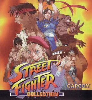<i>Street Fighter Collection</i> Fighting video game compilation by Capcom