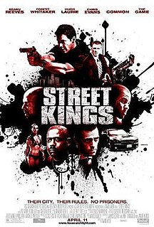 <i>Street Kings</i> 2008 action thriller film directed by David Ayer
