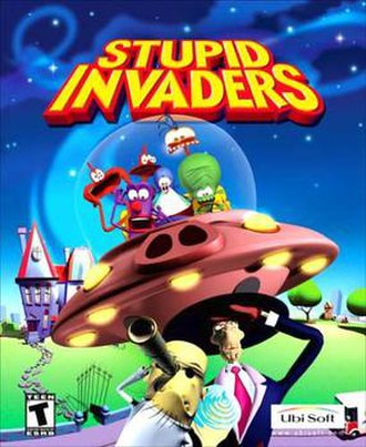 Space Goofs - Stupid Invaders box art