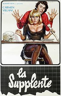 <i>Substitute Teacher</i> (film) 1975 film by Guido Leoni