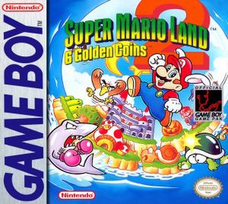 Super Mario Land 2: 6 Golden Coins - North American box art