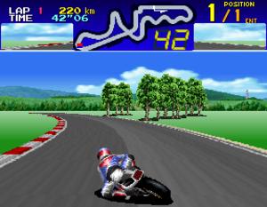 Suzuka 8 Hours (video game) - Screenshot of the game