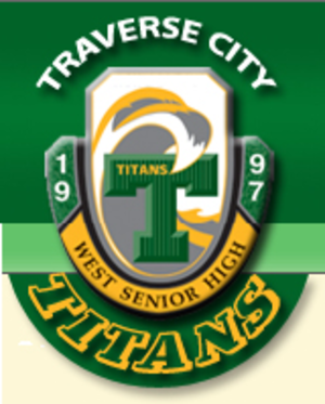 Traverse City West Senior High School - Image: TCW