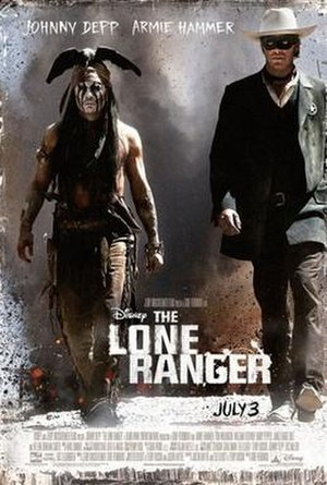 The Lone Ranger (2013 film) - Theatrical release poster