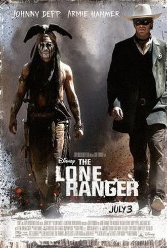 Lone Ranger - 2013 film, The Lone Ranger