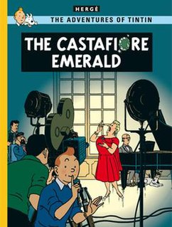 <i>The Castafiore Emerald</i> comic book album
