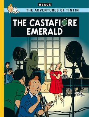 The Castafiore Emerald - Cover of the English edition