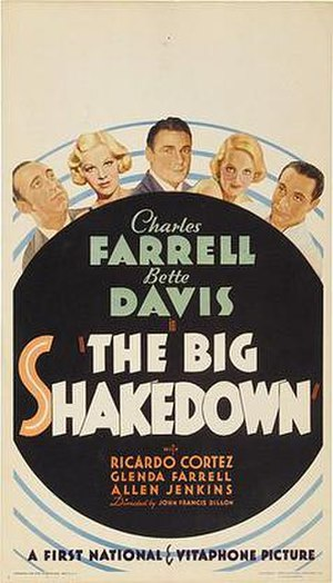 The Big Shakedown - Theatrical release poster