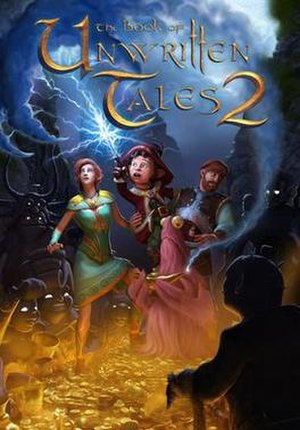 The Book of Unwritten Tales 2 - Image: The Book of Unwritten Tales 2 cover