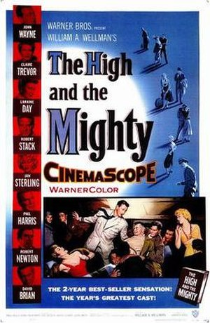 The High and the Mighty (film) - Theatrical poster