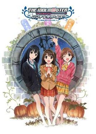 The Idolmaster Cinderella Girls - Promotional image of the anime featuring (from left to right): Rin Shibuya, Uzuki Shimamura and Mio Honda