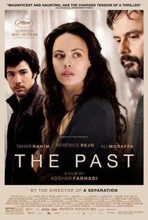 <i>The Past</i> (2013 film) 2013 film by Asghar Farhadi