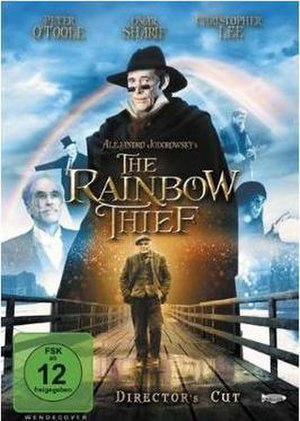 The Rainbow Thief - Image: The Rainbow Thief Video Cover